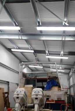 Indoor Shed Lighting